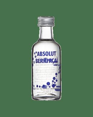 Absolut Vodka Mini Flavour Mix 50ml Bottle